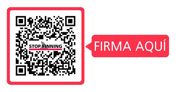 Stop finning. Firma ahora