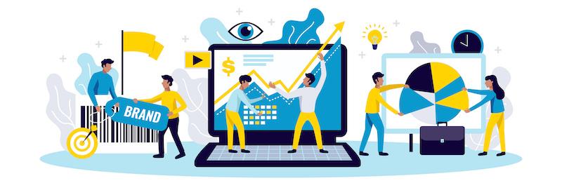 Diferentes medios de ayuda a las empresas, información, marca, evolución, ideas, objetivos
