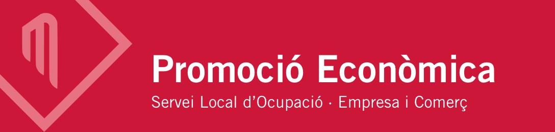 Logotip Promoció Econòmica de l'Ajuntament de Sentmenat