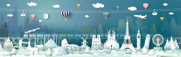 Skyline de turismo mundial